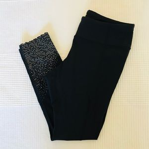 Lululemon Capris - Scalloped Hem, Reflective Dots